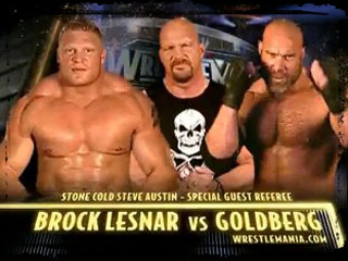 Classic Induction Goldberg Vs Lesnar The Most Overhyped