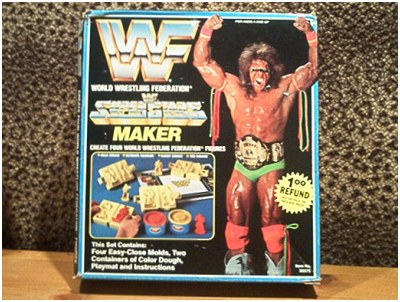 WWF Fun Dough Kit