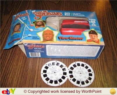 WWF Viewmaster and reels gift set