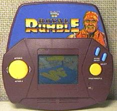 WWF Royal Rumble handheld game by Acclaim