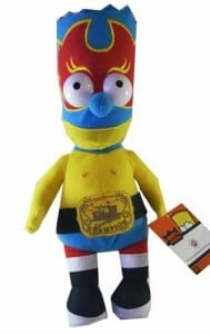 Bart Simpson Simpsons Wrestling Doll