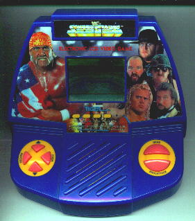 WWF Superstar TIger Handheld Game