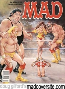 Mad Magazine WWF cover