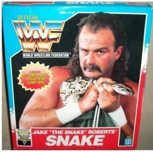 Jake The Snack rubber snake box