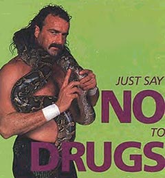 "found these old wwf ""just say no"" posters on google. pretty neat, Birthday card"