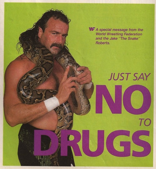 Jake Roberts Say No To Drugs