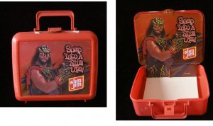 Macho Man Randy Savage Lunch box Open