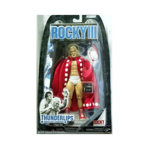 Thunderlips Rocky III figure in box