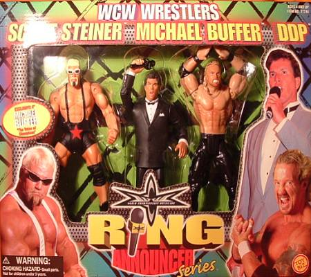WCW Michael Buffer figure