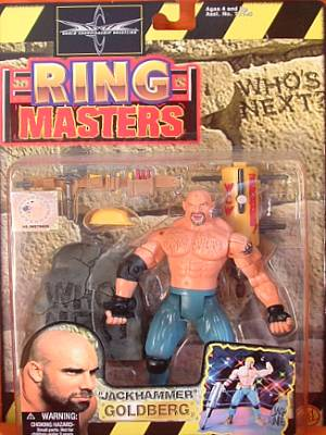WCW Ring Masters Bill Goldberg