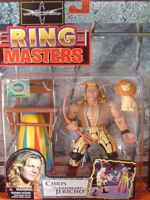 WCW Ring Masters Chris Jericho