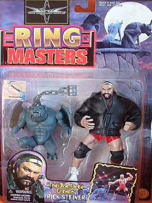 Someone Bought This Wcw Ring Masters Figures Wrestlers