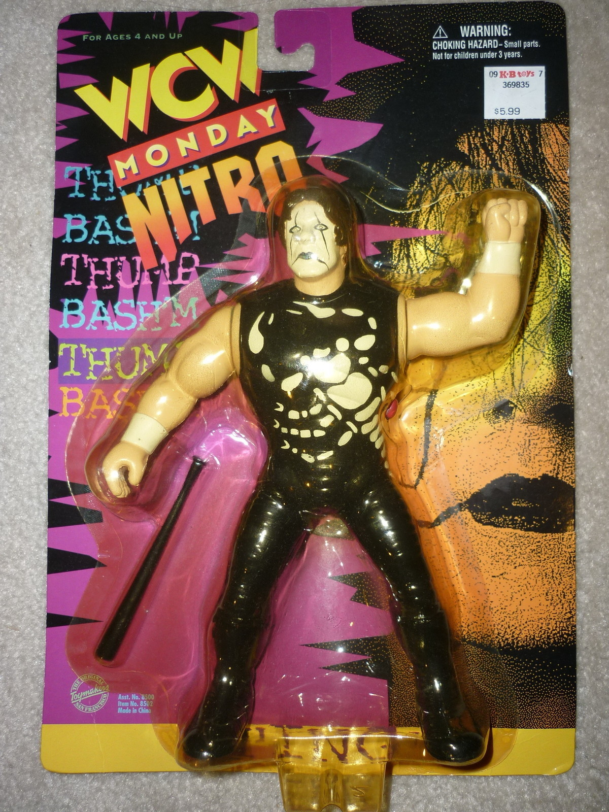 WCW Sting Vibrating figure