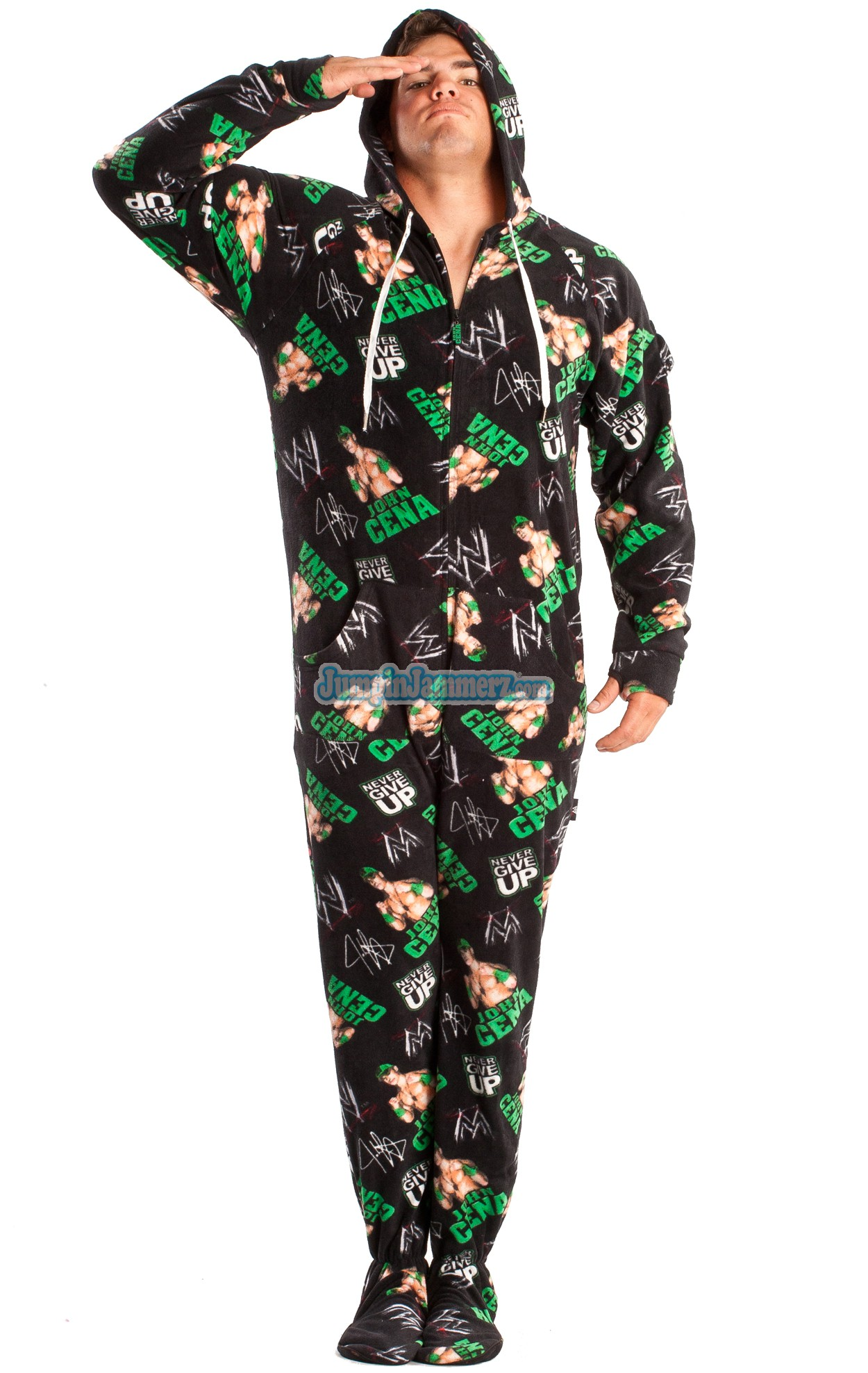 WWE Footed Pajamas