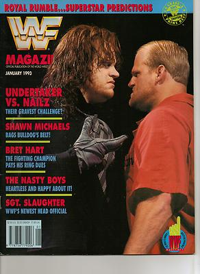 WWF Magazine January 1993 Nailz Undertaker