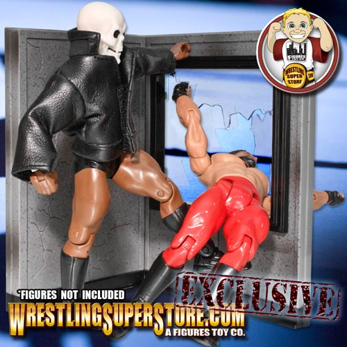 Wrestling Figure Breakable Window Play Set 1