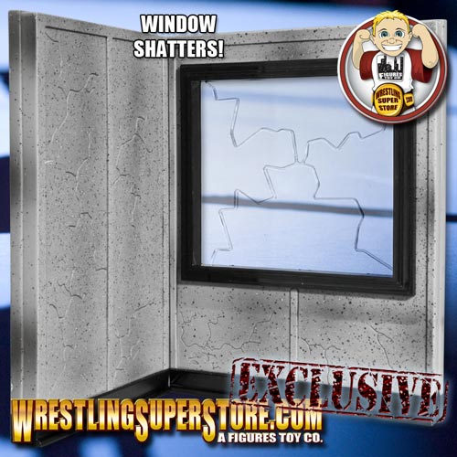 Wrestling Figure Breakable Window Play Set 2