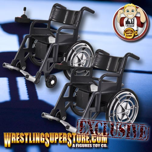 Wrestling Figure Wheelchair