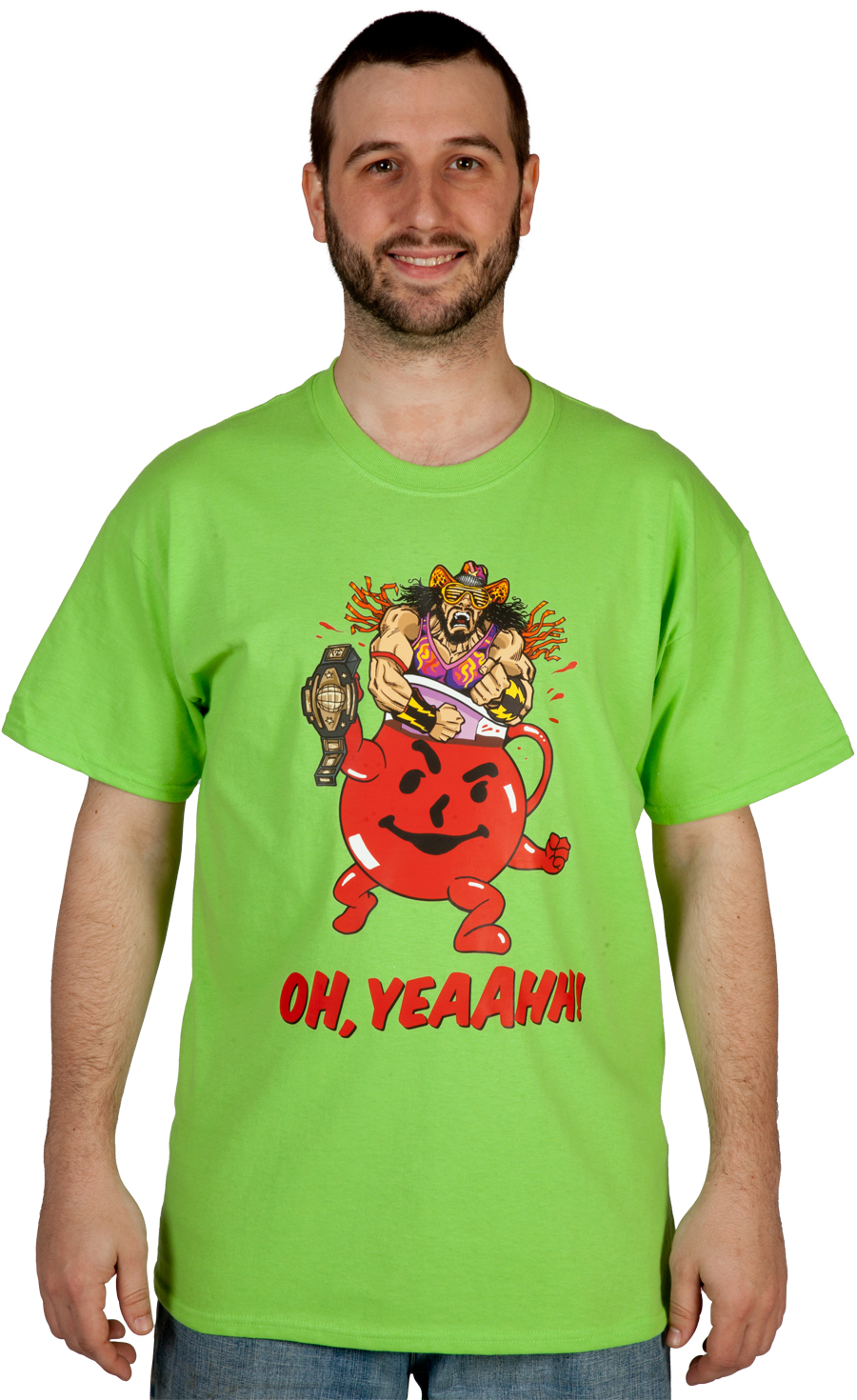 Randy Savage Kool-Aid Oh Yeah shirt