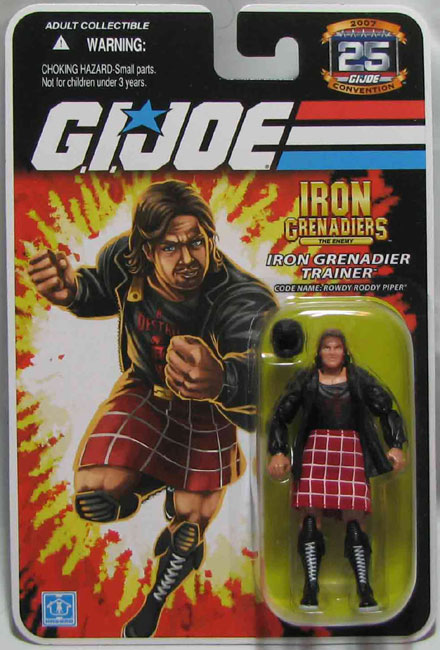 Rowdy Roddy Piper G.I Joe figure