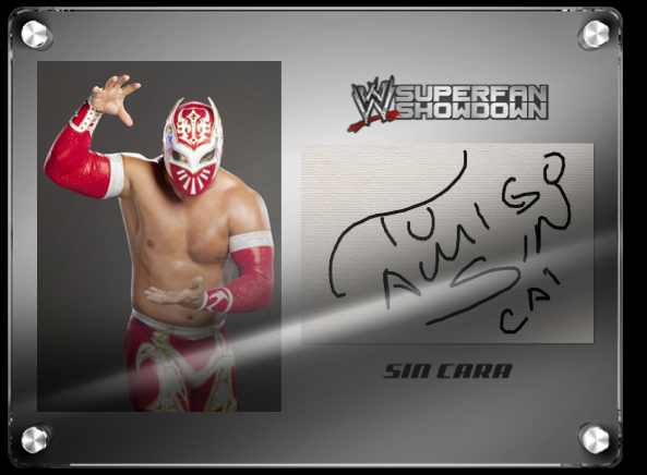 WWE Facebook App sin cara in progress