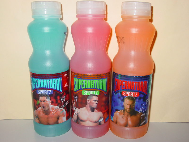 WWE SuperNatural Sportz Drinks