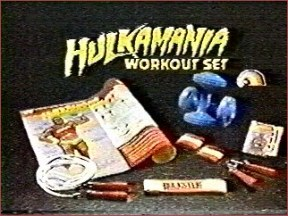 Hulk Hogan workout set