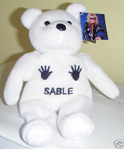 Sable Teddy Bear Handprints