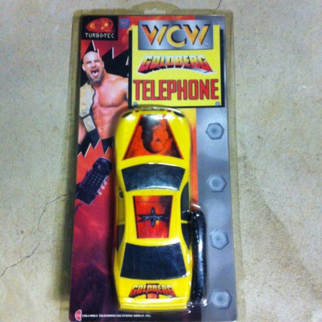 WCW Goldberg Telephone