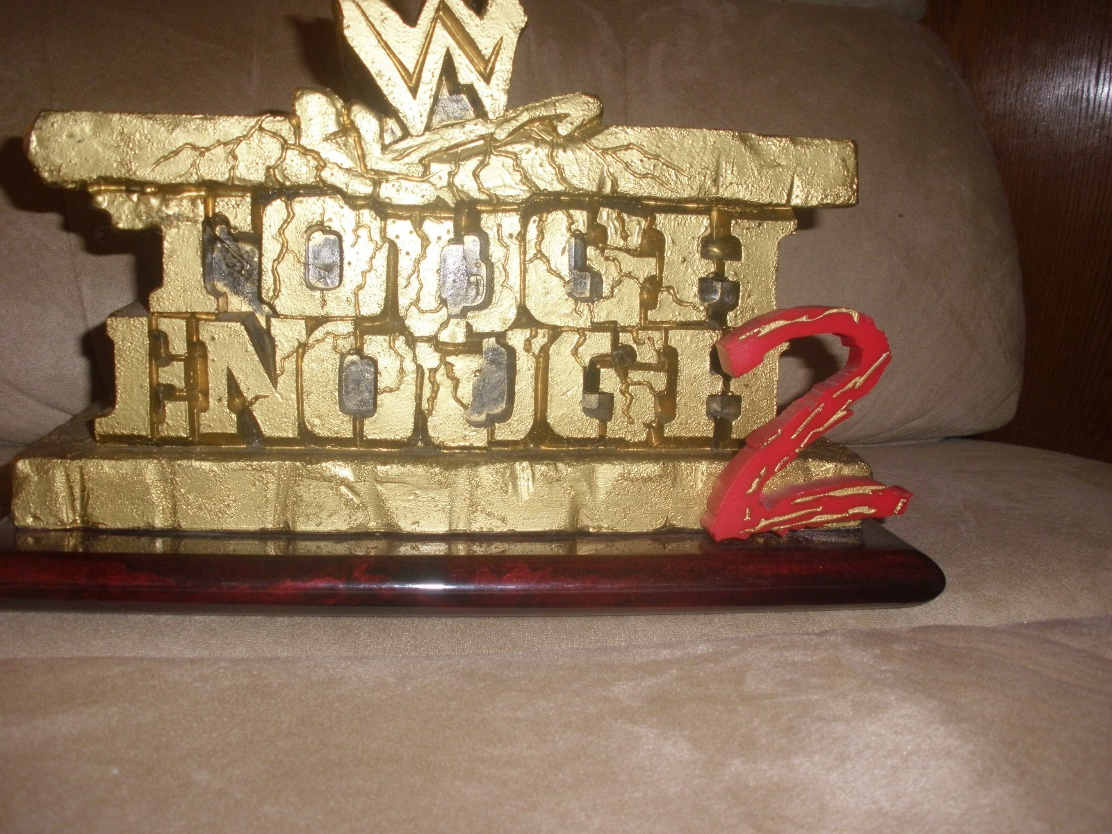 WWE Tough Enough Trophy