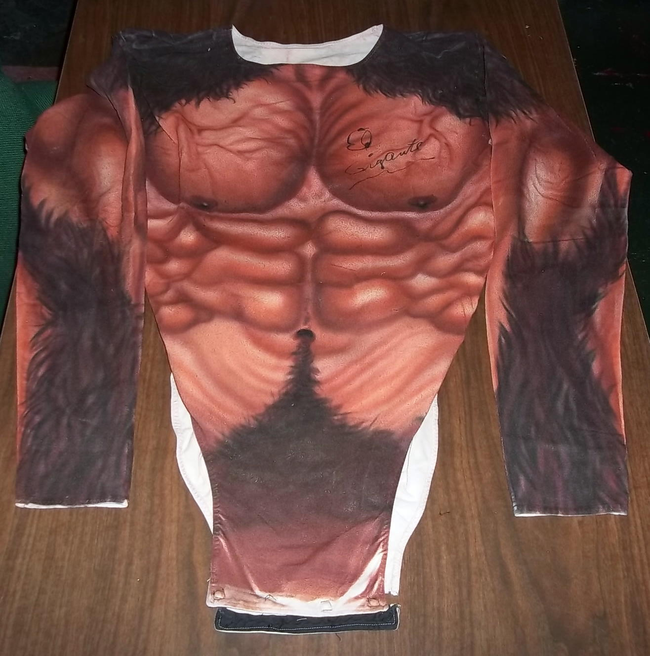 Giant Gonzalez body suit