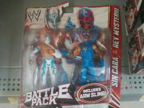 Sin Cara Injured Figure