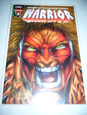 Warrior Comic book
