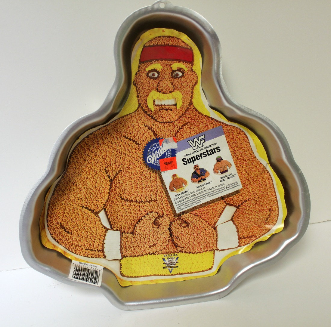 someone bought this hulk hogan, macho man, and big bossman cake pans, Birthday card