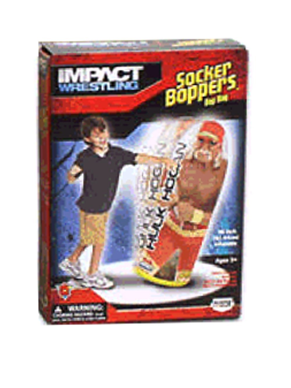 TNA Hulk Hogan bop bag