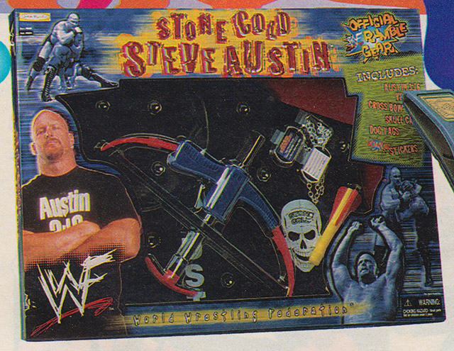 Stone Cold Steve Austin Crossbow Sears Wishbook catalog 1999