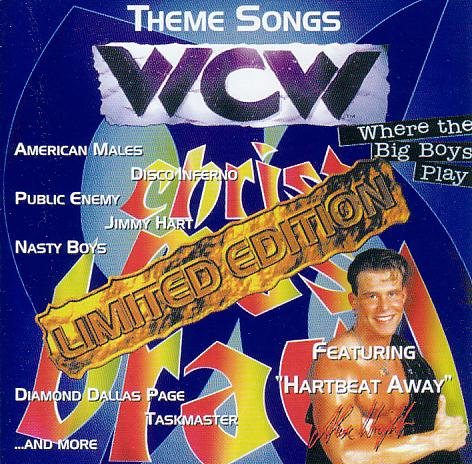 WCW Christmas Brawl theme music album CD