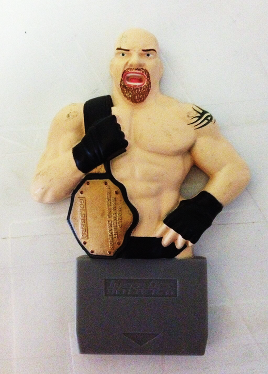 WCW Thunder Bill Goldberg Sony Playstation Memory Card
