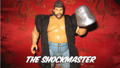 WCW The Shockmaster figure