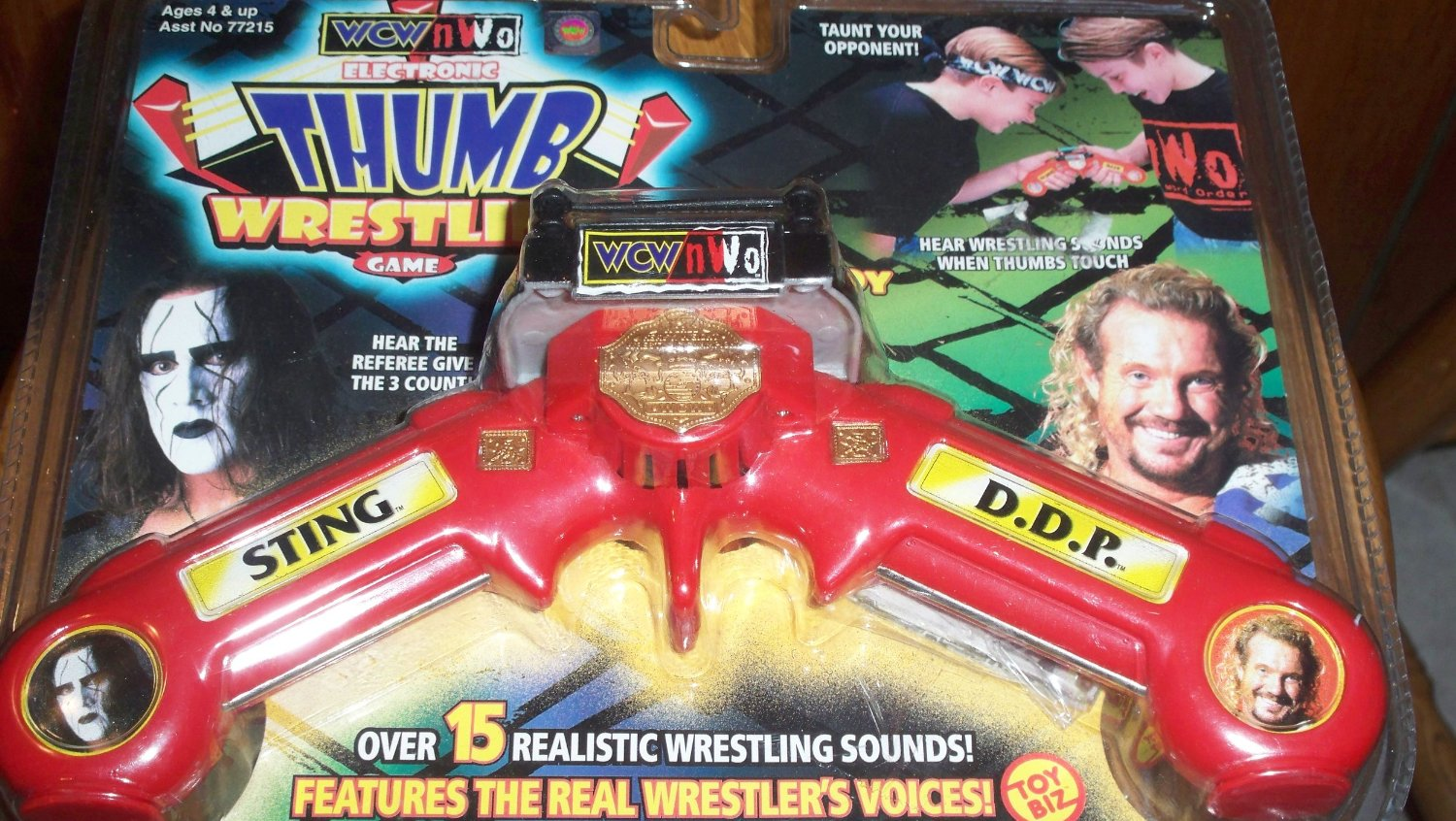 Someone Bought This: Lots of WCW and WWE Thumb Wrestling