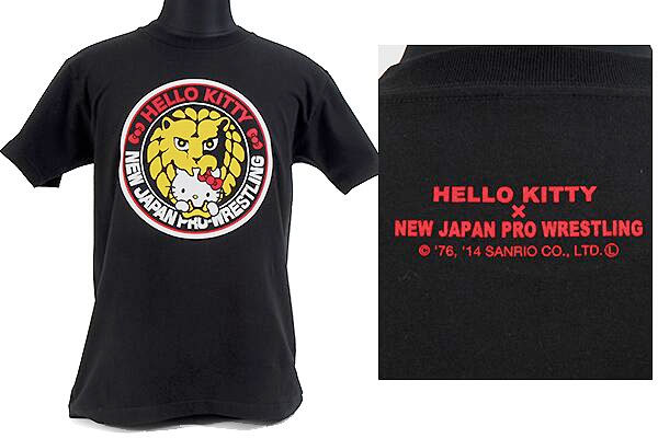 Hello Kitty New Japan Pro Wrestling NJPW shirt 2
