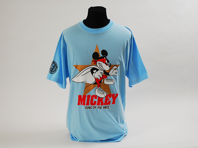 NJPW New Japan Pro Wrestling Disney Mickey Mouse shirt