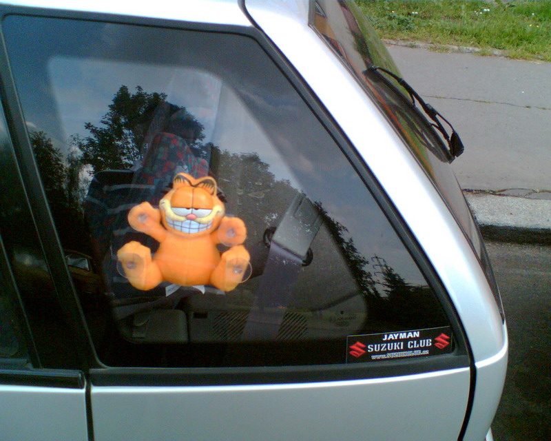 Garfield Window Suction Cup Toy