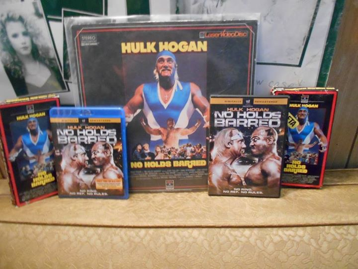 No Holds Barred video releases DVD VHS Hulk Hogan