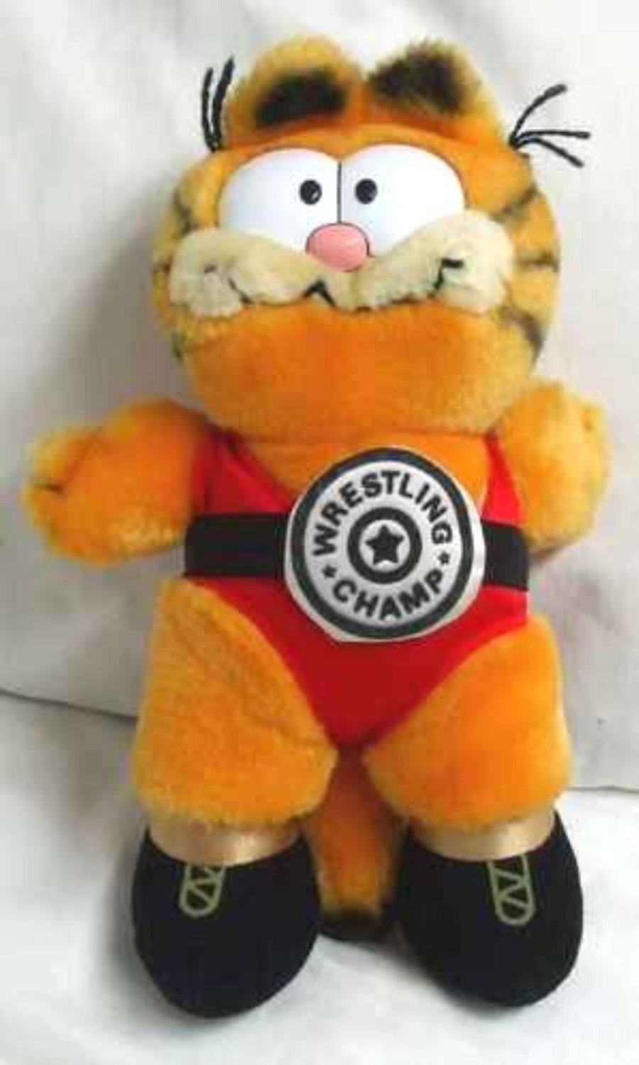 Garfield wrestler plush