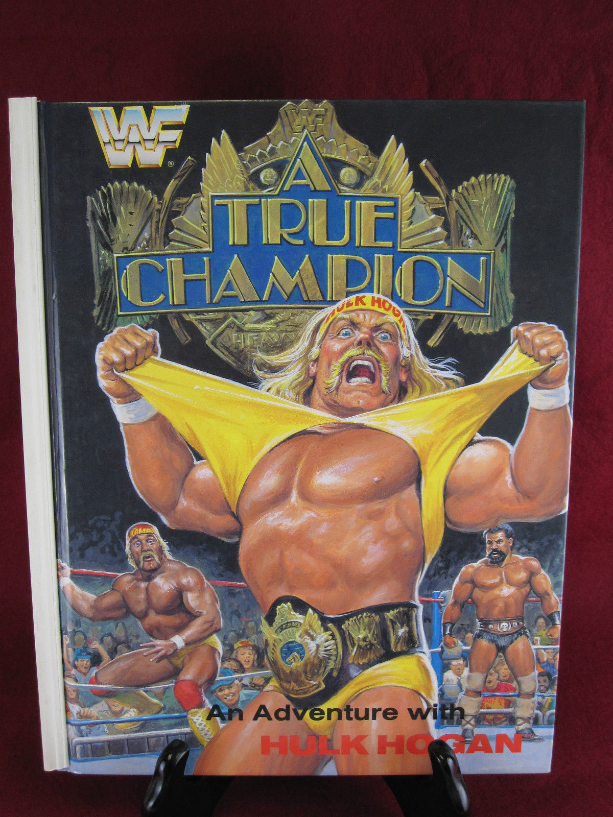 Hulk Hogan A True Champion book front