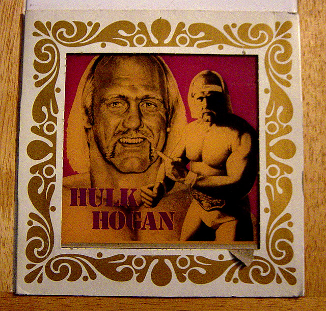 Hulk Hogan Carnival Glass mirror