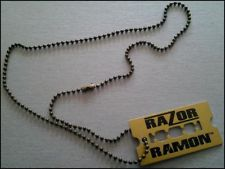 Razor Ramon razor necklace
