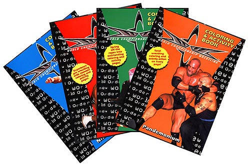 Someone Bought This: WCW coloring and activity books - WrestleCrap ...
