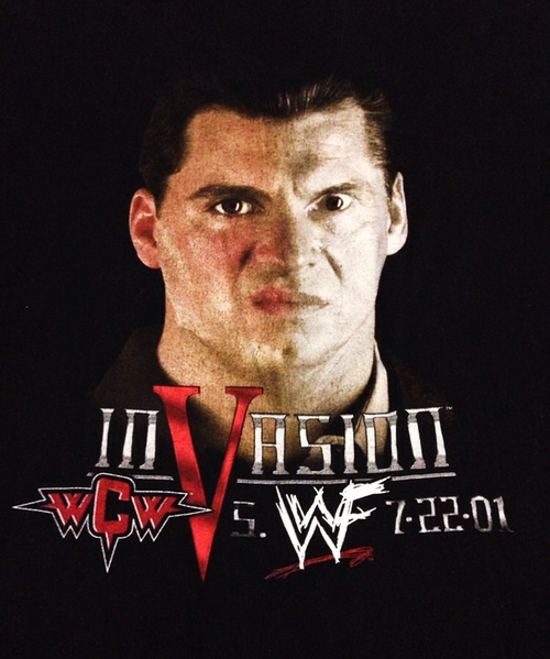 WWE Invasion shirt
